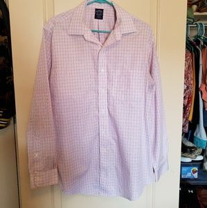 Brooks Brothers button-up striped shirt